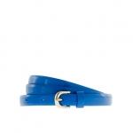 Blue skinny belt from Jcrew at J. Crew
