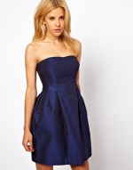 Blue sleeveless dress at ASOS at Asos