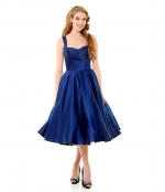 Blue swing dress at Unique Vintage