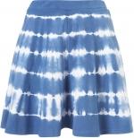 Blue tie dye skater skirt at Topshop at Topshop
