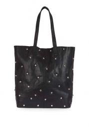 Bobby studded shopper bag at Topshop