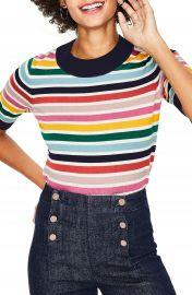 Boden Multicolor Knit Tee   Nordstrom at Nordstrom