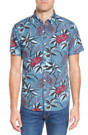 Bonobos Slim Fit Floral Print Sport Shirt at Nordstrom