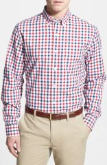 Bonobos and39Check Republicand39 Slim Fit Gingham Sport Shirt at Nordstrom