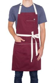 Bordeaux Apron by Hedley & Bennett at Hedley & Bennett