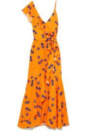 Borgo De Nor   Isadora printed satin maxi dress at Net A Porter