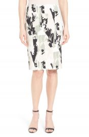 Boss  Vepina  Print Pencil Skirt  Regular   Petite at Nordstrom