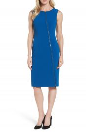 Boss Danafea Zip Detail Sheath Dress  Nordstrom Exclusive at Nordstrom