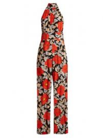 Boswell floral-print silk jumpsuit at Matches