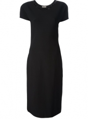 Bottega Veneta Diamond Cutout Collar Dress - Jofr at Farfetch