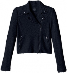 Boucle Moto Jacket at Rebecca Taylor
