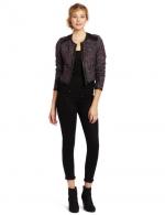Boucle jacket with black trim at Amazon