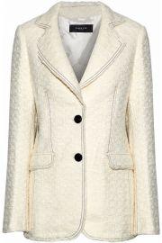 Boucle-tweed blazer by Derek Lam at The Outnet