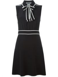 Boutique Moschino Bow Detail Sleeveless Dress - Wellens Women at Farfetch