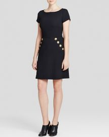 Boutique Moschino Dress - Button Trim at Bloomingdales