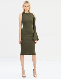 Bow Back Flare Pencil Dress at The Iconic
