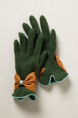 Bow Bracelet Gloves at Anthropologie