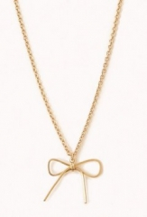Bow Charm Necklace at Forever 21