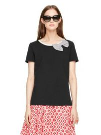 Bow Tee at Kate Spade