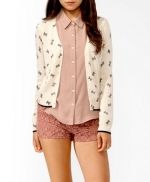 Bow cardigan at Forever 21 at Forever 21
