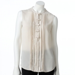 Bow front top by LC Lauren Conrad at Kohls