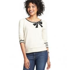 Bow sweater at Loft