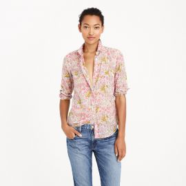 Boy shirt in poppydot floral at J. Crew