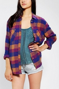 Boyfriend Flannel Shirt by BDG at Urban Outfitters