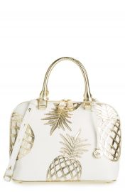 Brahmin Vivian Leather Dome Satchel at Nordstrom