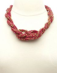 Braided necklace at Charlotte Russe