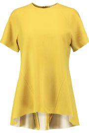 Breakers crepe top by Rebecca Vallance at The Outnet
