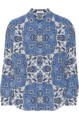 Brett shirt by Equipment at The Outnet
