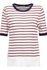 Brienne striped cotton and cashmere-blend sweater at The Outnet