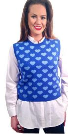 Bright Hearts Sweater at Elana Carello
