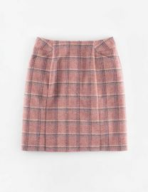 British Tweed Mini Skirt at Boden