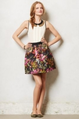 Brocade Blooms Skirt at Anthropologie