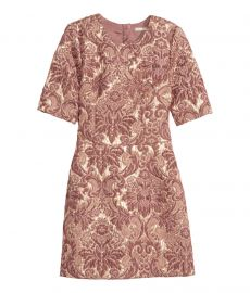 Brocade Dress at H&M
