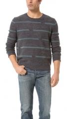 Broken Stripes Sweater at East Dane