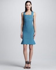 Brooks scuba dress by Roland Mouret at Neiman Marcus