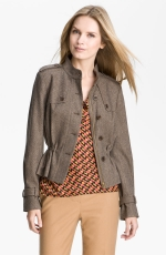 Brown jacket like Blairs on Gossip Girl at Nordstrom