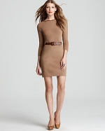 Brown shift dress like Janes at Bloomingdales