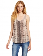 Brown snake print top by Joie at Amazon