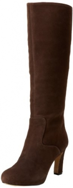 Brown suede boots by Nine West at Amazon
