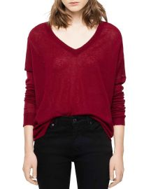 Brume Cashmere Sweater by Zadig and Voltaire at Blooomingdales