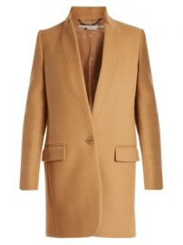 Bryce single-breasted wool-blend coat at Matches