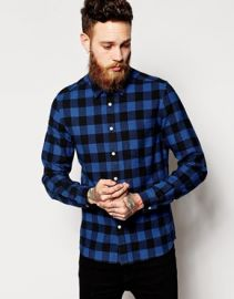 Buffalo print shirt at Asos