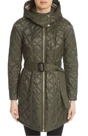 Burberry Baughton Quilted Coat at Nordstrom