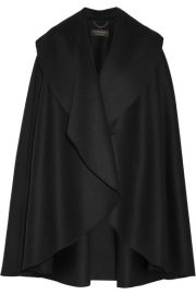 Burberry   Double-faced wool-felt cape at Net A Porter