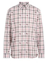 Burberry - Edward Check Woven Button-Down Shirt at Saks Fifth Avenue