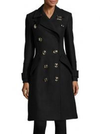 Burberry - Wool-Blend Belt Coat at Saks Fifth Avenue